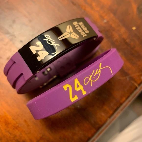 Other   Kobe Bryant Bracelet 24 Lakers Wristband Jersey   Poshmark
